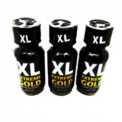 XL Extreme Gold Poppers x 3
