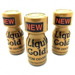 Liquid Gold Poppers x 3