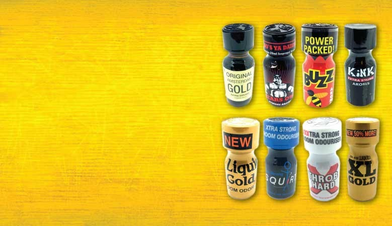 Huge range of poppers online!